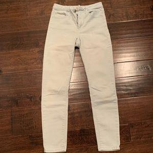 Forever 21 light blue jeans